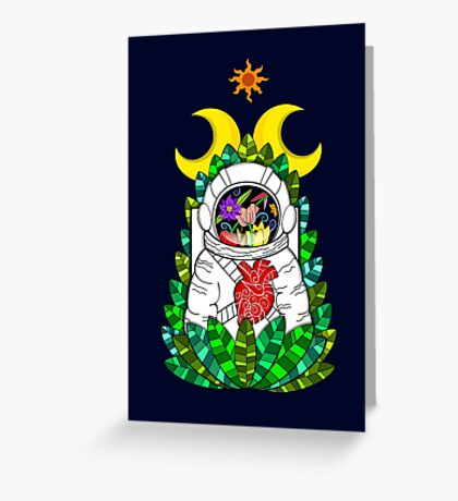 Nature of space Greeting Card