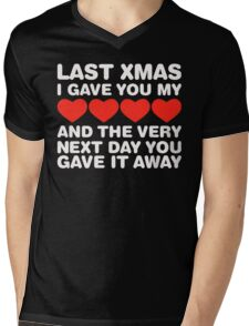 Last Christmas  Mens V-Neck T-Shirt