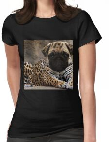 Chug Womens Fitted T-Shirt