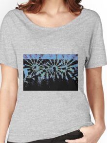 DRIPPING STARBURST Women's Relaxed Fit T-Shirt