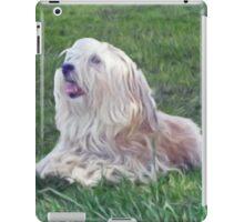 Happy Shaggy Dog iPad Case/Skin