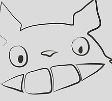 Totoro drawing by NAAY