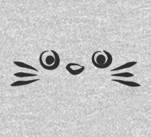 Totoro face by NAAY