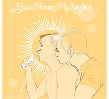 Mystrade - Good Morning My Sunshine by Clarice82