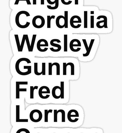 Angel Cast Sticker