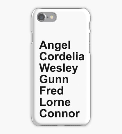 Angel Cast iPhone Case/Skin