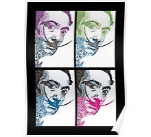 Salvador Dali via Picasso Poster