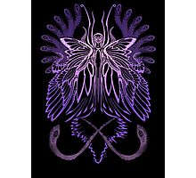 Mab the Queen of Fey (High Purple) Photographic Print