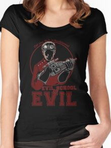 Evil School of Evil Women's Fitted Scoop T-Shirt
