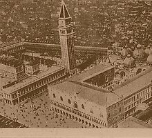 Vintage view of Venice,Italy by Logan81