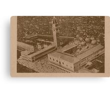Vintage view of Venice,Italy Canvas Print