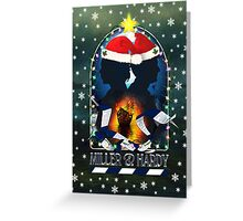 MILLER & HARDY - Festive Card Greeting Card