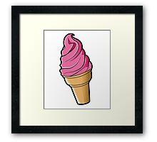 Berry Icecream Framed Print