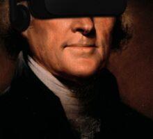 Thomas Jefferson VR Sticker