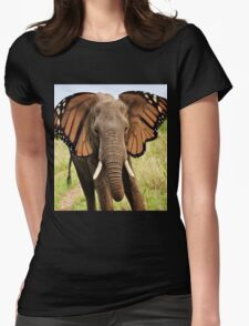 Elephly Womens Fitted T-Shirt
