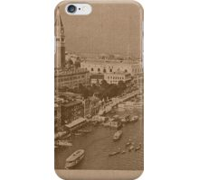 The Grand Canal aeral view,Venice,Italy iPhone Case/Skin