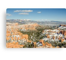 Inspiration Point in Bryce Canyon National Park Canvas Print