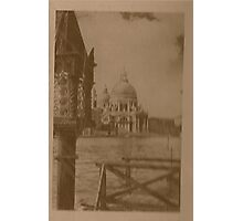 The church of Salute,Venice,Italy Photographic Print