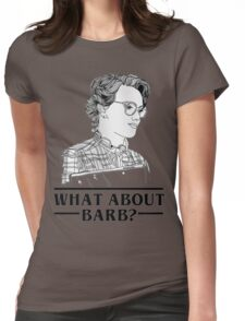 barb stranger Womens Fitted T-Shirt