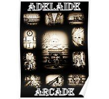 ADELAIDE ARCADE-SOUTH AUSTRALIA Poster