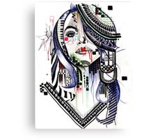 Aaliyah Dana Haughton Canvas Print