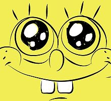 Sponge Bob face by NAAY