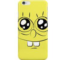 Sponge Bob face iPhone Case/Skin