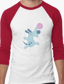 Silly Sports Animals Men's Baseball ¾ T-Shirt