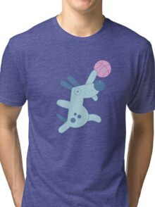 Silly Sports Animals Tri-blend T-Shirt