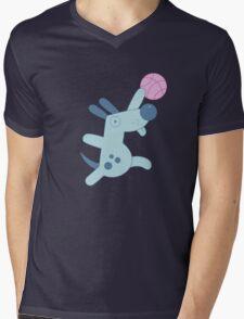Silly Sports Animals Mens V-Neck T-Shirt