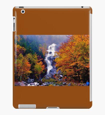 Shooting In the Autumn Rain iPad Case/Skin