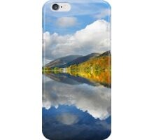 Shades of autumn at Grasmere in the English Lake District iPhone Case/Skin