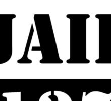 County Jail Sticker