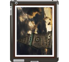 Customs House Clock Tower iPad Case/Skin