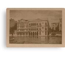 Contarini Palace,Venice,Italy Canvas Print