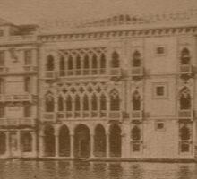 Contarini Palace,Venice,Italy Sticker