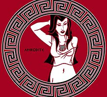 Aphrodite- Goddess of Passion by cockroachman