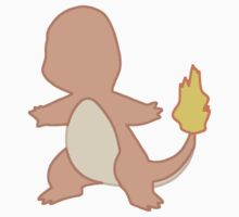 Charmander Minimalist Kids Clothes