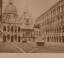 The court-yard of Doges' Palace,Venice,Italy by Logan81