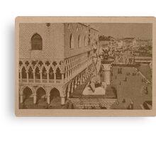 Doges' Palace,Venice,Italy Canvas Print