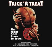 Trick 'r Treat Halloween Mashup T-Shirt by samRAW08