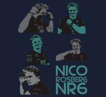 NR6- Nico Rosberg Kids Tee