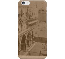 Lesser Saint Mark Square,Venice,Italy iPhone Case/Skin
