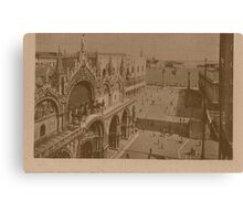 Lesser Saint Mark Square,Venice,Italy Canvas Print