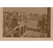 Lesser Saint Mark Square,Venice,Italy Photographic Print