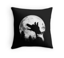 Bark At The Moon! Throw Pillow