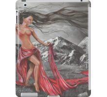 Lady of the Elements earth, wind, fire and water iPad Case/Skin