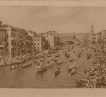 Regate on the Grand Canal,Venice,Italy by Logan81
