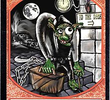 Magic Cards Goblin Igor Young Frankenstein Junior Token by MARCOMAJO