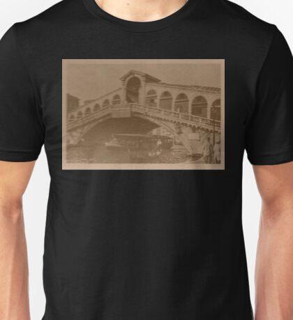 Rialto Bridge Vintage Unisex T-Shirt